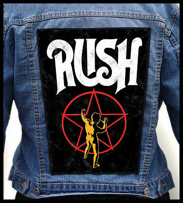 RUSH - Starman    --- Giant Backpatch Back Patch