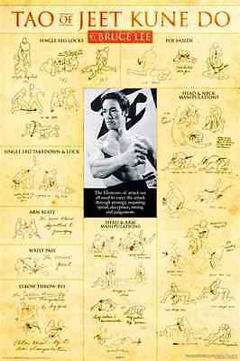 BRUCE LEE  Poster TAO OF JEET KUNE-DO Large Poster