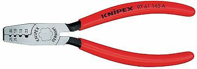 Knipex Crimping Pliers for End Sleeves (Ferrules), 145mm (97 61 145 A)