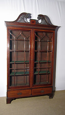 Ewardian Mahogany Display Cabinet