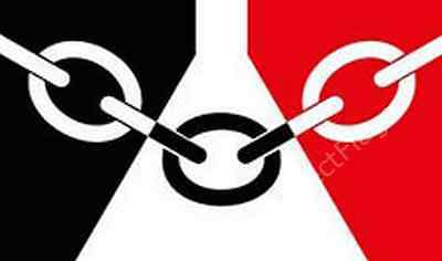 BLACK COUNTRY FLAG - WEST MIDLANDS COUNTY FLAGS - Choose Size 3x2, 5x3, 8x5 Feet
