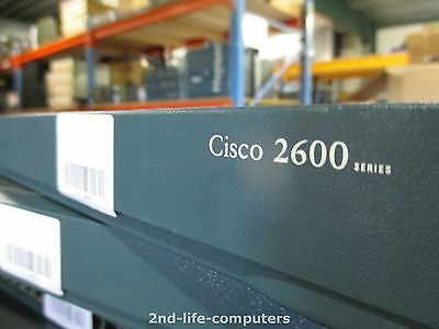 Cisco 2612 Ethernet, Token Ring Router + WIC1B S/T MODULE CARD