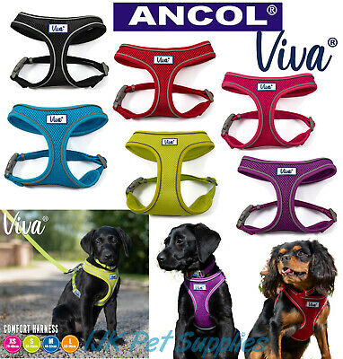 Ancol Comfort Comfortable Soft Breathable Mesh Dog Puppy Adjustable Harness
