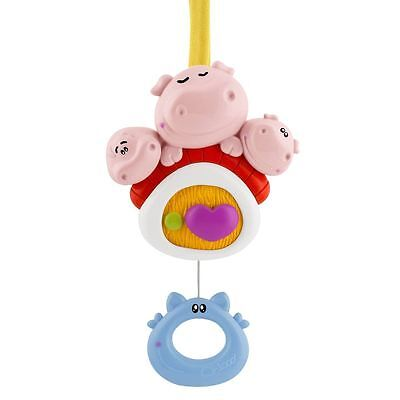 New Chicco Fairy Tale 3 Little Pigs Music Cot Toy