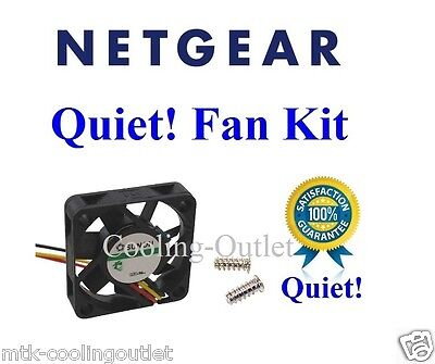 1x Quiet Version fan for Netgear GS748TS, Low Noise, best for home networking