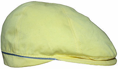 135b27d5fcc PAUL SMITH YELLOW COTTON FLAT CAP HAT SIZE-M VERY RARE made in Italy