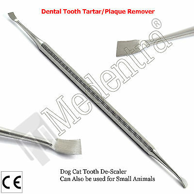 Professional Classic Dog Pet Double End Dental Scaler Scraper Tooth Teeth Tartar