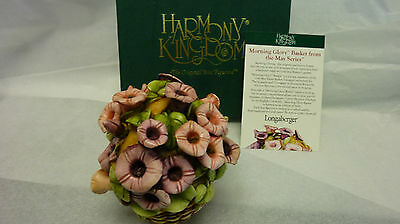 Harmony kingdom  MORNING GLORY BASKET FROM MAY SERIES SIGNED LIMITED EDITIOM