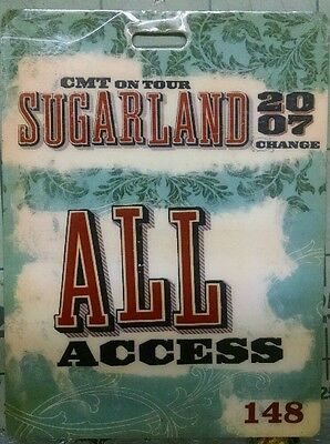 Sugarland CMT Tour All Access Pass