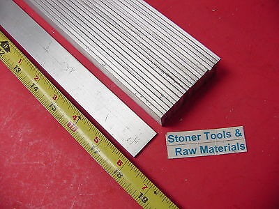 "20 Pieces 1/8"" X 1"" ALUMINUM FLAT BAR 18"" long 6061 T6511 .125"" New Mill Stock"