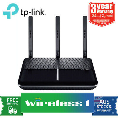 Au Stock TP-Link Archer VR600 AC1600 Wireless Gigabit VDSL/ADSL Modem Router
