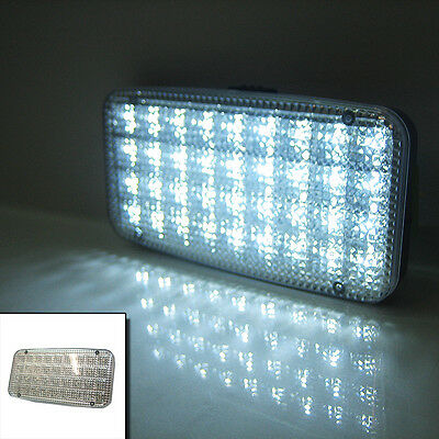 12v Car Rectangle Ceiling Dome Roof Interior Light Lamp 36 Led On/Off Switch