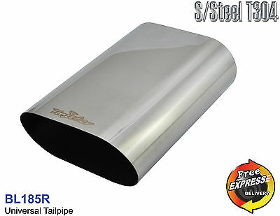 Exhaust tip Tailpipe trim Universal s/s for BMW Subaru Nissan Mercedes Benz