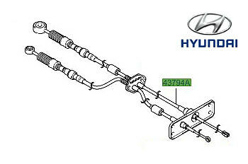 Genuine (OE) Hyundai Matrix Gear Linkage Cables P/N 4379417201