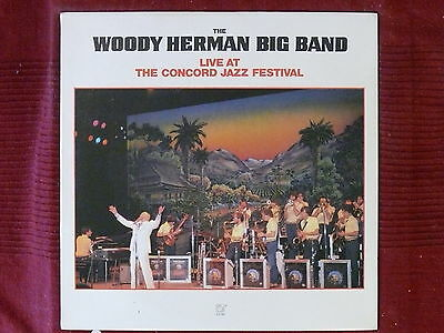 LP Woody Herman Big Band Live At The Concord Jazz Festival   CJ-191