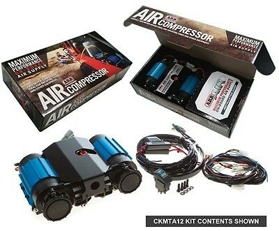 Arb On-Board High Performance 12 Volt Twin Air Compressor Ckmta12 4X4 Off Road