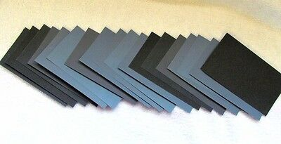 800- 4000 grit Wet and Dry Sandpaper Abrasive Waterproof Paper Sheets