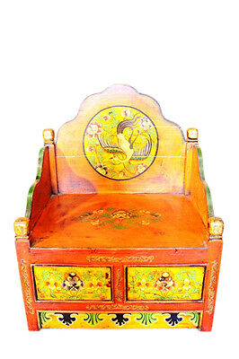 Tibet Altar bank antique ca. 90 Years with 2 Drawers