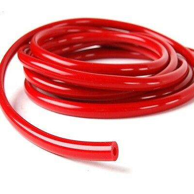 "RED 3/16"" (5mm) Silicone Vacuum Hose Intercooler Coupler pipe turbo 10 feet"