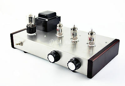 Douk Audio 12AX7 Vacuum Tube Preamp HiFi Stereo Valve Finished Pre-amplifier