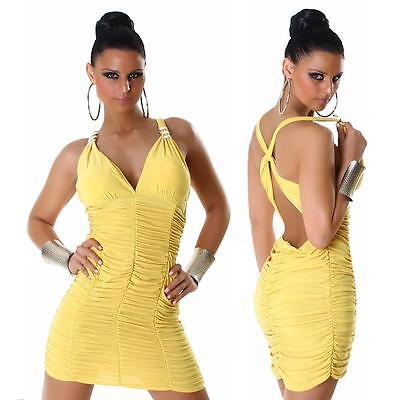 Womens Sexy Halter Neck Bodycon Mini Dress size 10 12