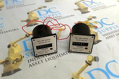 Tamura Electric Works T603 Time Counter Lot Of 2