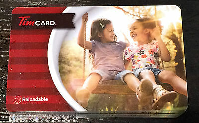 """2015 Tim Hortons (FD47581) """"BFF's"""" Collectible gift card (NCV) French"""