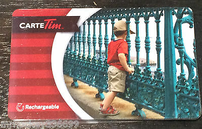 """2015 Tim Hortons (FD47579) """"Lil Dreamer"""" Collectible gift card (NCV) French"""