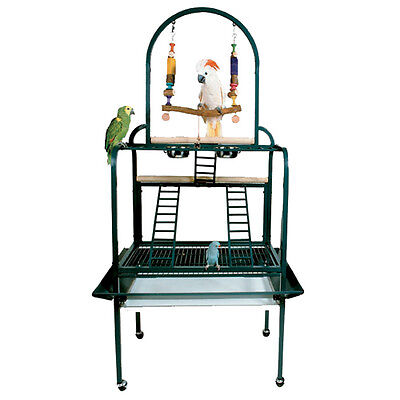 PP 502 PARROT BIRD METAL PLAYSTAND toy cage cages toys gym african grey conure