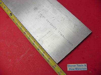 "1/2"" X 6"" ALUMINUM 6061 FLAT BAR 23"" long .500"" T6511 Plate New Mill Stock"
