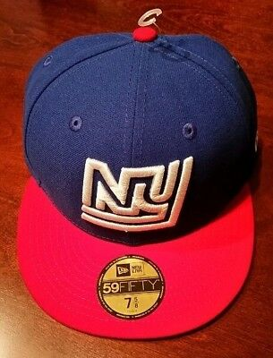 best website 7495f b3c0b AUTHENTIC New York NY Giants New Era 59Fifty Fitted Throwback Hat Cap  Football