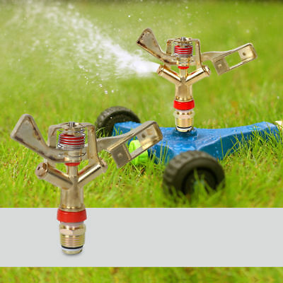 "1/2"" Garden Sprinkler Irrigation 360 Rotate Lawn grass Farm Watering Sprinkler"