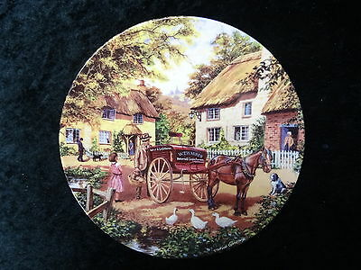 """Royal Doulton Collectors Plate - Country Deliveries Series - """"The Baker"""""""
