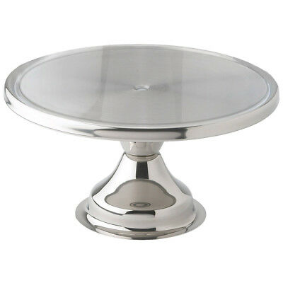 "Winware by Winco Display Stand S/S 13"" Diameter, Fits Cambro # RD1200CW"
