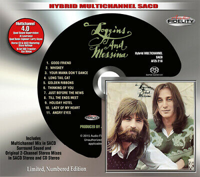 AFZ 216 | Loggins & Messina - Loggins & Messina SACD oop