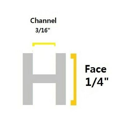 """Gy68 7//32/"""" Face with 1//4/"""" Channel H-Round Stained Glass Lead Came 30 feet"""