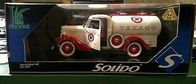 Solido Prestige Die Cast Ford Citerne 1936 Texaco Delivery Truck