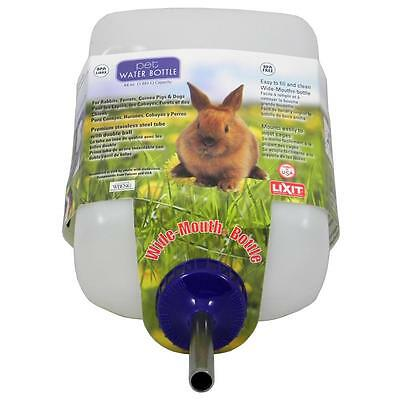 Lixit Water Bottle Rabbit Frrret, Guinea Pigs & Dog64oz Free Shipping