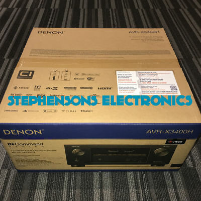 BrandNew DENON AVR-X3400H AVRX3400 Receiver (Authorized Dealer Product)