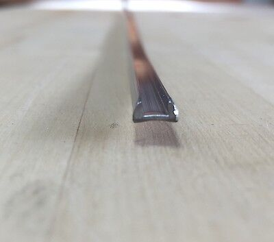 """1/8"""" U Border Lead Came (30 feet)  - Stained Glass Supplies"""