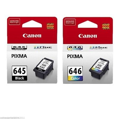 2 CANON Genuine ink cartridge PG645/CL646 645/646 For Pixma MG2460 MG2560