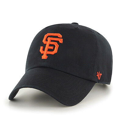 MLB Brand '47 Basecap/Baseballcap SAN FRANCISCO GIANTS black Logo slouch hat