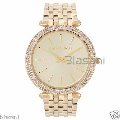 Michael Kors Original MK3191 Women's Gold Stainless Steel Watch