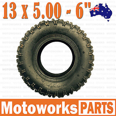 "13 x 5.00 - 6"" inch Tyre Tire ATV QUAD Bike Gokart Scooter mini Buggy Mower"