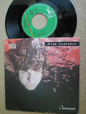 MIKE OLDFIELD Innocent SPAIN PROM0 45 VIRGIN 1989