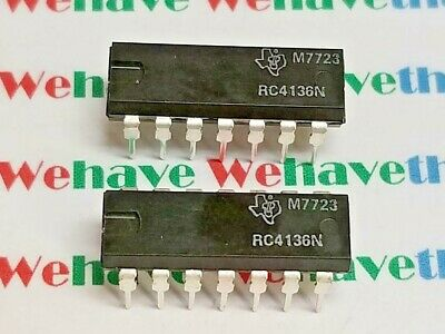 RC4136N / DIP / IC / 2 PIECES /  (qzty)