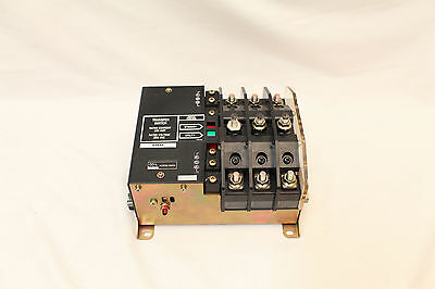 Okura Intex MAC-DT 105 Amp Automatic Transfer Switch 250 VAC 3 Pole Magnetic