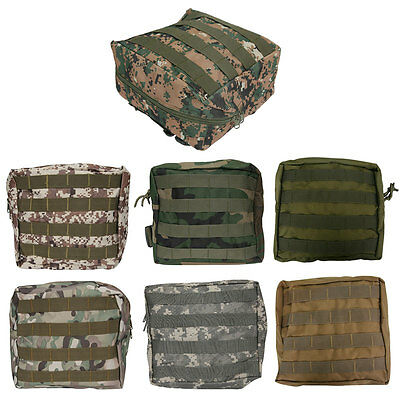 1X Molle Airsoft Tactical Hunting Army Drop Leg Panel Utility Thigh Pouch Bag AU