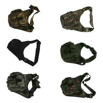 Molle Tactical Military Shoulder Sling Bag Outdoor Hunting Pouch Utility Gear