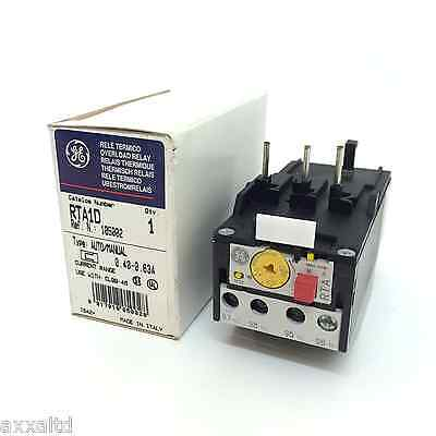 Overload Relay 105002 GE 0.4-0.63A RTA1D